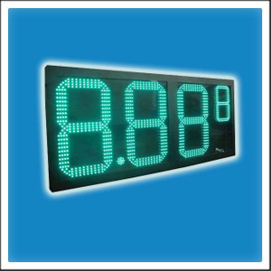 HTD-GP24 24 Inches Digit LED Gasoline Station Price Changer Sign Board