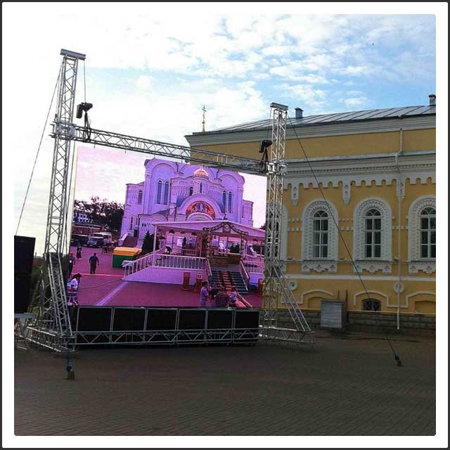 P10 Outdoor LED Display Panel Board for Event, Ceremony, Stage