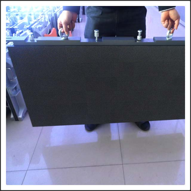P6 Outdoor LED Rental Display Screen with Die Casting Cabinet