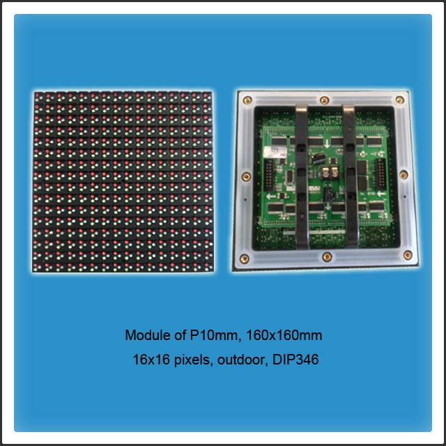 DIP LED P10mm Outdoor Full Color LED Display
