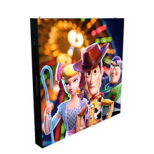 P4mm Indoor Front Service Advertising LED Display Screen (front service & front installation)